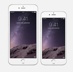 Los dos nuevos Iphone 6